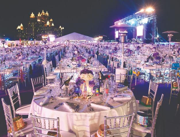 Atlantis Palm Events Outdoor GHOTW Dining