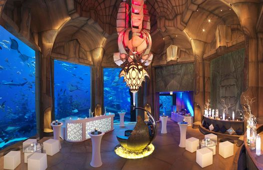 Inddor venues for Atlantis Palm Events GHOTW