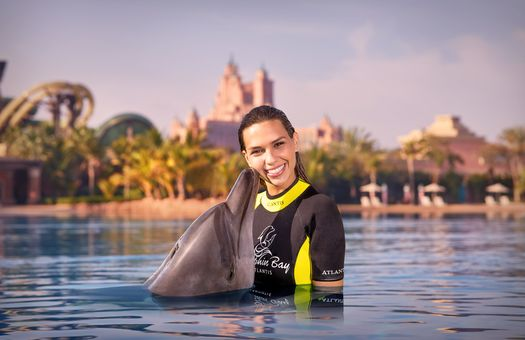 Atlantis The Palm Waterpark dolphin ghotw