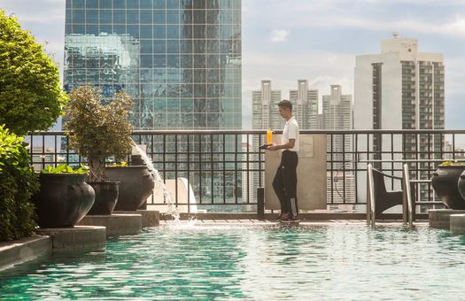 Banyan Tree Bangkok Pool GHOTW