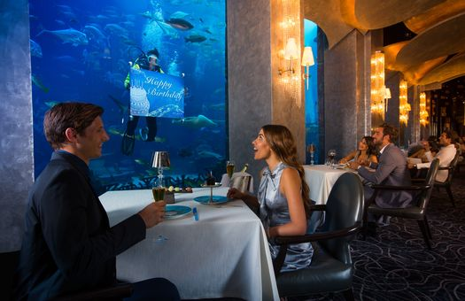 Atlantis The Palm Ossiano Restaurant GHOTW